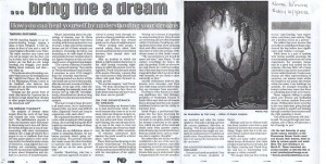 Witness Interview with Dr Ian Player, Dr Gloria Gearing and Jennifer Thord-Gray on Dreams